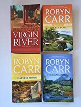 Robyn Carr (4 Book Set) Virgin River; Angel's Peak; Harvest Moon; Hidden Summit