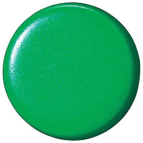 両面強力カラーマグネット18(コーティングタイプ) 緑