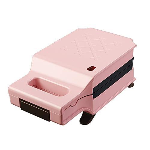 YFGQBCP Sándwich de máquina, tostadora Saludable de Doble Cara for Hornear Easy Clean Home Tostador Máquina Rosa Tostadora