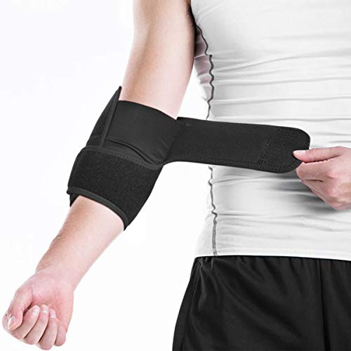Healifty Ellenbogenbandage - Bandage für Ellenbogen mit Klettverschluss, Ellenbogenstütze Ellenbogenorthese für Kraftsport, Tennisarm, Golferarm, Handball, Sehnenscheidenschmerzen