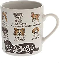 Kotobuki Japanese Favorite Dogs,Cats Mug (Dogs 113-135)