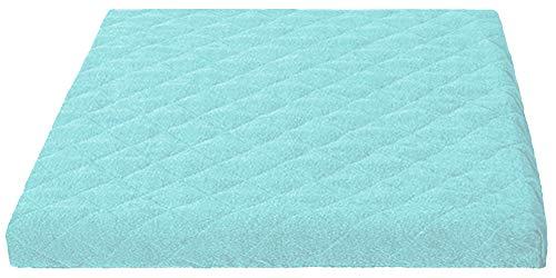 Trockner und Waschmaschinenschonbezug in versch. Farben, Größe: ca.60 x 60 x 5 cm von Brandseller (türkis)