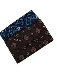 Cotton Colors Mens Cotton Printed Lungi, Free Size(Multicolour, DSA59) - Pack of 2