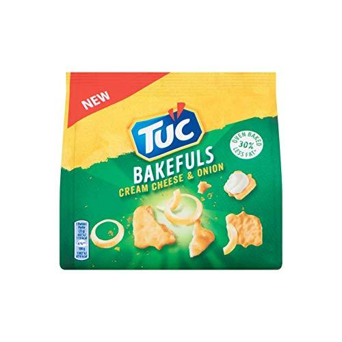 Crema di formaggio e cipolla Cracker | Tuc | Crema di formaggio e cipolla | Peso totale 80 grammi