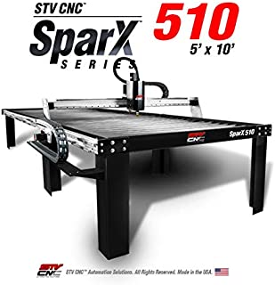 STV Motorsports SparX510 5x10 CNC Plasma Cutting Table - Made in the USA