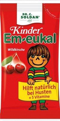 KINDER EM EUKAL Bonbons, 75 g