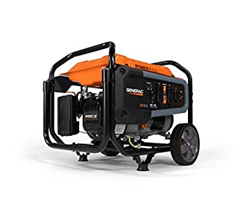Generac 7677 GP3600 Portable Generator Orange Black