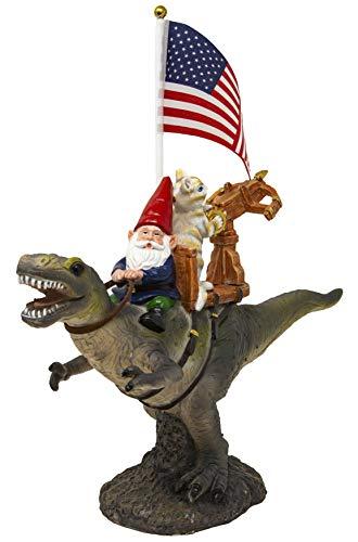 T-Rex Fellowship Gnome Figurine