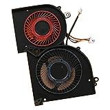 Almencla Ventilateur GPU PC Dissipateur Wind Compatible pour MSI GS65 GS65VR GS65 Stealth