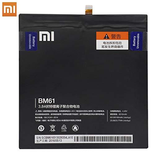 MOVILSTORE Batteria interna BM61 6190 mAh compatibile con Xiaomi MI Pad 2