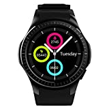 Kivors Reloj Inteligente L1 Bluetooth Smartwatch...