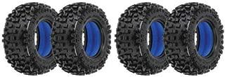 PROLINE 2 Pair PRO1182-01 Badlands SC 2.2/3.0 M2 Tires Fron/Rear Medium Foams 4 Tires Total
