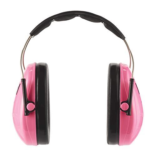 3M Peltor Kapselgehörschutz für Kinder H510AKPC1 – Gehörschutz mit verstellbarem Kopfbügel für Lärm bis 98dB in Neonpink – SNR 27 Hörschutz mit hohem Tragekomfort & geringem Gewicht
