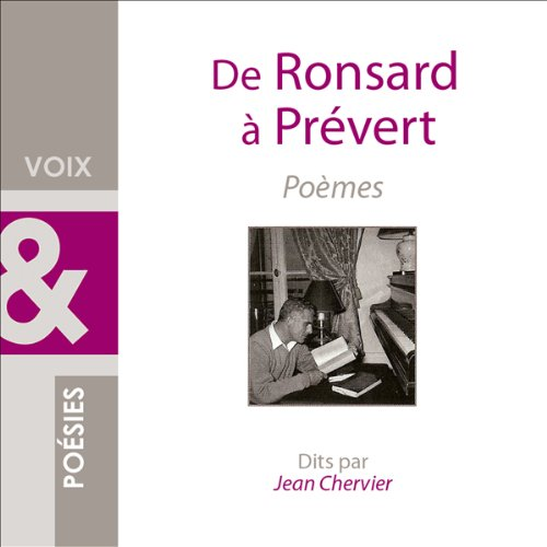 De Ronsard à Prévert audiobook cover art