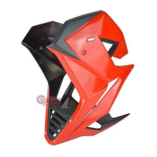 Belly pan fairing Side panel lower under cover Replacement For Honda Grom msx125 sf 2016-2020 (All Color) V1 (Red)