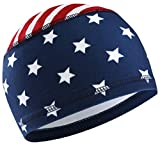 OutdoorEssentials Skull Cap Helmet Liner for Men - Cooling Sweat Wicking Cycling, Football & Head Caps - Motorcycle & Hard Hat Liners