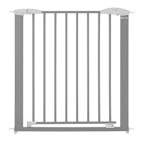 BADABULLE Barrera de seguridad Safe & Lock Metal - Apertura de 73 a 81,5cm