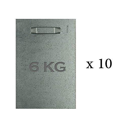 Wolff & Stübecke plakstrips, 100 x 150 mm, max. 6 kg, voor binnen en buiten, 10 stuks.