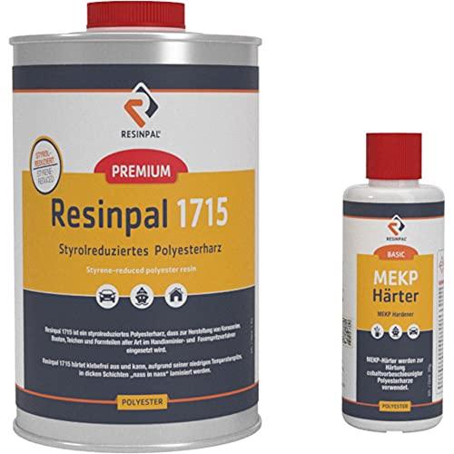 Resinpal 1715, Polyesterharz, 1 kg + 20 g Härter