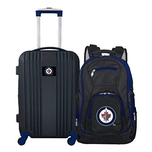 Find Bargain NHL Winnipeg Jets 2-Piece Luggage Set