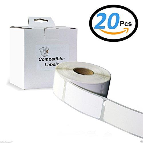 zu Dymo 99019 59 x 190 mm 110 Label Etiketten pro Rolle 20x Label kompat