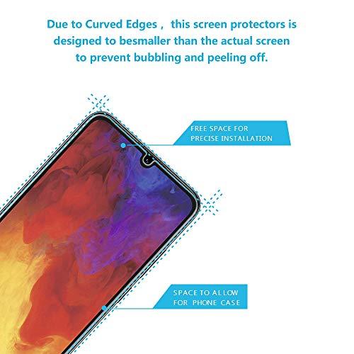 Didisky Panzerglas Hartglas Displayschutzfolie für Huawei Y6 2019/Y6 Pro, [4er Pack ] Kratzfest, 9H Härte, Keine Blasen, High Definition, Einfach anzuwenden, Fall-freundlich - 2