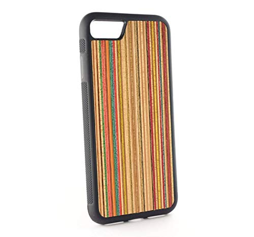 Recycled Skateboards iPhone case for Xs max, XR, XS, X, 11, 11 Pro Max, 8 plus, 7 plus, 6s plus, 7, 8, 6s, 6 wooden case, iPhone wood case