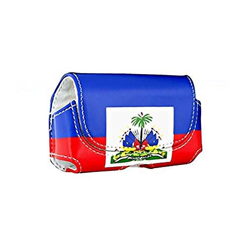 Reiko Design Pouch voor Motorola V3 - Haiti Vlag