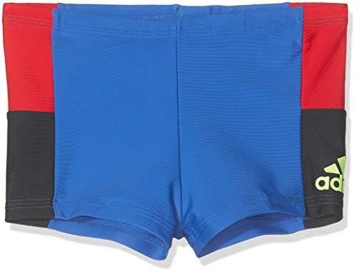 adidas Jungen Colourblock Boxer-Badehose, Legink/Blue, 164