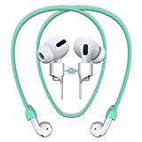 cobcobb Airpods Strap Magnetic Cord Anti-Lost Leash Sports String Accessories for Airpods Pro/2/1 (Mint)