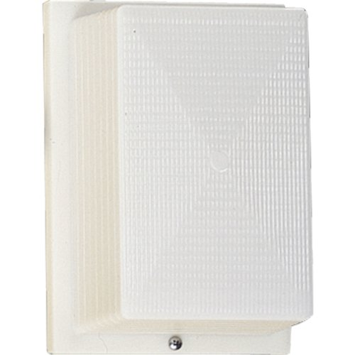 Progress Lighting P5694-60 Outdoor Wall/Ceiling Security Lighting, 1-9-watt