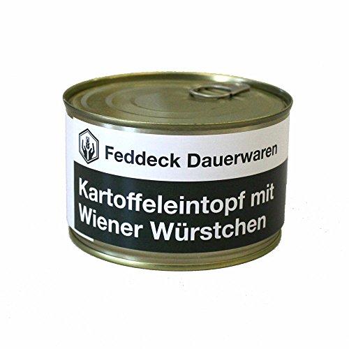 Fertiggericht Dose Kartoffeleintopf mit Wiener Würstchen 400 g