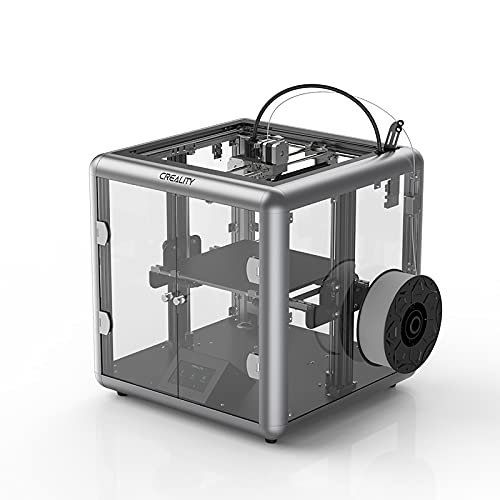 lyq All-metal Extrusion Structure 3D Printer 4.3-inch Full-color Touch Screen 45°angle Human-computer Interaction Mute Motherboard Printing Size: 280×260×310mm