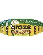 Graze Sweet & Salty Veggie Protein Power Groente- en Notenmix snack - 6 x 30 g