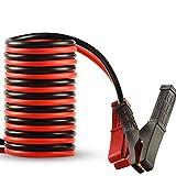 OUZHOU 1800 A Auto Booster Start con pinza de clip, cable de arranque de emergencia, cable de cobre Jumper