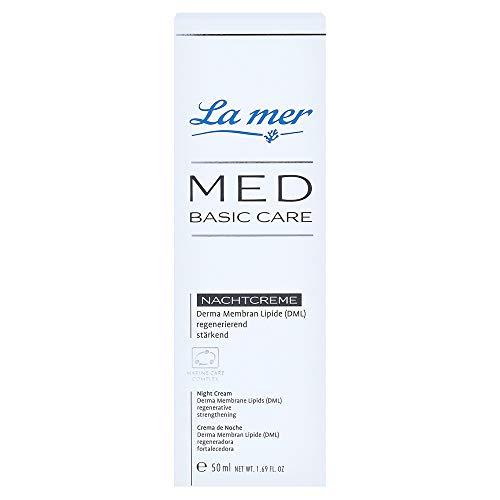 LA MER MED Basic Care Nachtcreme o.Parfüm 50 Milliliter