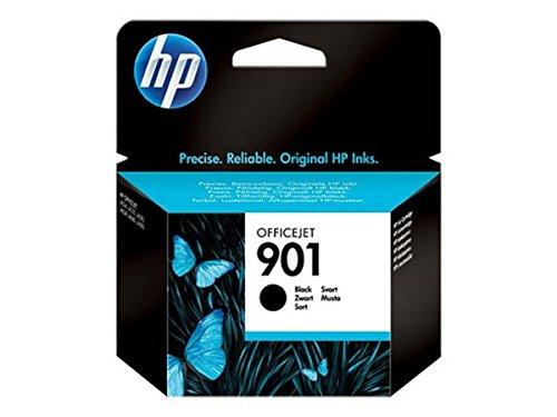 HP - Hewlett Packard OfficeJet J 4680 C (901 / CC 653 AE) - original - Druckerpatrone Schwarz - 200 Seiten - 4ml