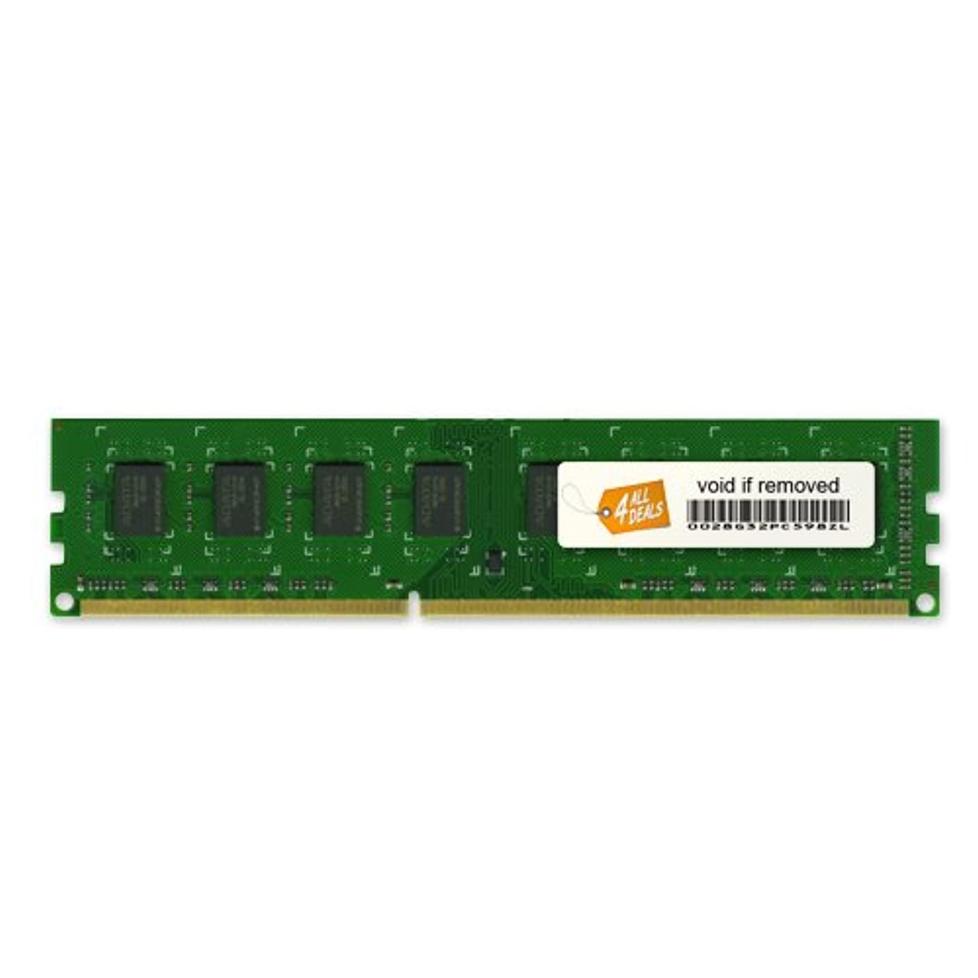 4AllDeals 8GB 2X4GB Memory RAM for Dell Precision Workstation T1500, T3500, T1600 240pin PC3-10600 1333MHz DDR3 DIMM Memory Module Upgrade