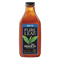 Pure leaf Iced Tea, Sweetened, Real Brewed Tea, 64 oz Bottle
