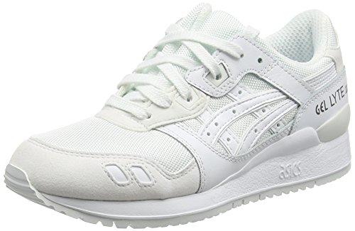 Asics Gel-Lyte Iii, Unisex-Erwachsene Laufschuhe, Weiß (White/White), 44 EU