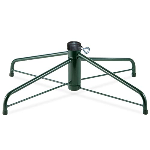 National Tree Company Christmas Tree Stand | Fits 1.25 Inch Pole | Folding Stand - 28 Inch
