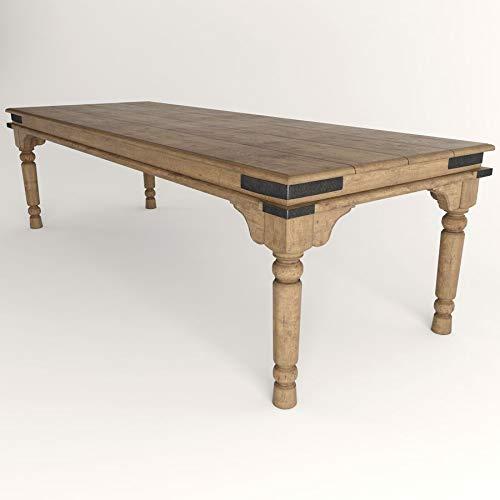 Mesa rustica bodega madera maciza