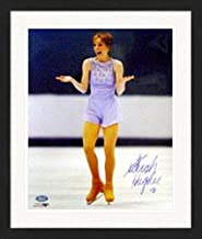 Autograph Warehouse 249261 Sarah Hughes Autographed 16 x 20 in. Photo - Figure Skating - 2002 Olympic Gold Medal Figure Skating - United States Olympic Team Matted & Framed
