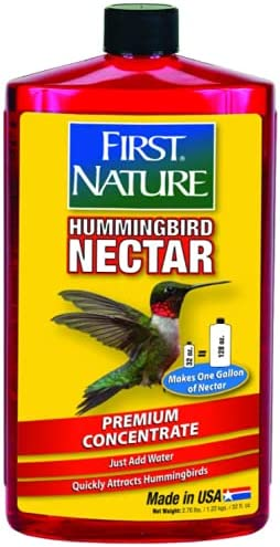 First Nature Tulsa Mall 3054 Red Nectar Concentrate Hummingbird 32-ounce Selling rankings