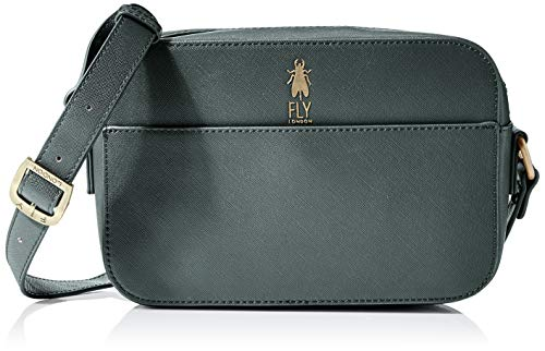 FLY London Damen ARES692FLY Handtasche, Dk Grün, One Size