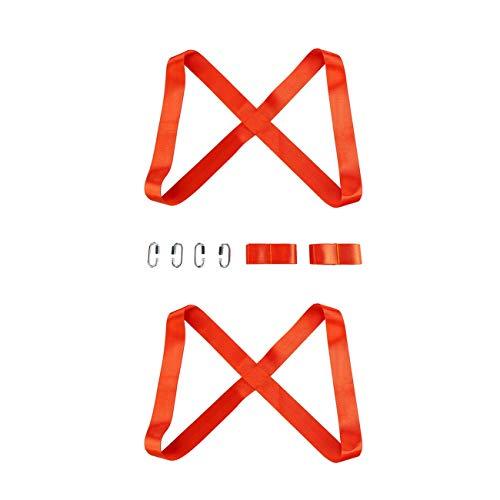 FYstar 3M Hebe- und Bewegungsgurte zum einfachen Tragen Schwerer Möbel Geräte Matratzen 2-Personen-Bewegungssystem Langlebiges Material