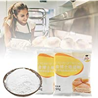 BDLeKing 3 PCS levadura para Hacer Pan, harina de Pan Profesional para panaderos, 50 g de levadura de Pan levadura Seca Activa máquinas de Pan