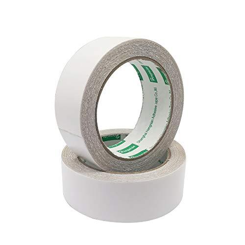 カーペットテープ 2セット 3.6cm*10m 両面テープ カーペット 織物 マット 木の床 ベニヤ板 タイル 滑り止め 大面積 超強力 強粘着 跡が残らない