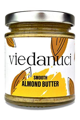 Viedanuci, burro di mandorle cremoso, 170 g, confezione da 2