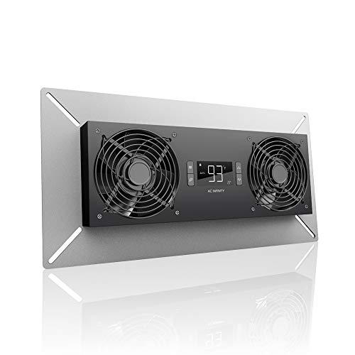 AC Infinity AIRTITAN T8-N, ventilador de sótano con controlador de temperatura y deshumidificación, clasificación IP-44, admisión
